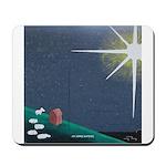 Christmas Star Mural Mousepad