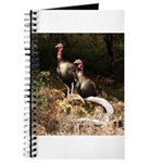 Two Turkeys on a Log Journal