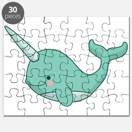 Cute Narwhal Puzzle