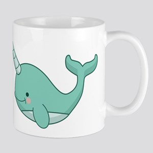 Happy Narwhal Mugs