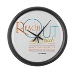 Reach Out Large Wall Clock