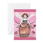 Chocolate Fairy Greeting Cards