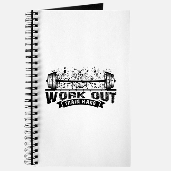 Work Out Train Hard Journal
