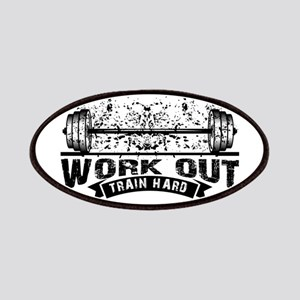 Work Out Train Hard Patch