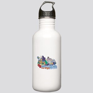 Las Vegas Travel Poste Stainless Water Bottle 1.0L