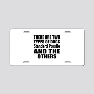 There Are Two Types Of Stan Aluminum License Plate