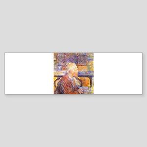 Toulouse-Lautrec - Van Gogh Bumper Sticker