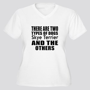 There Are Two Typ Women's Plus Size V-Neck T-Shirt