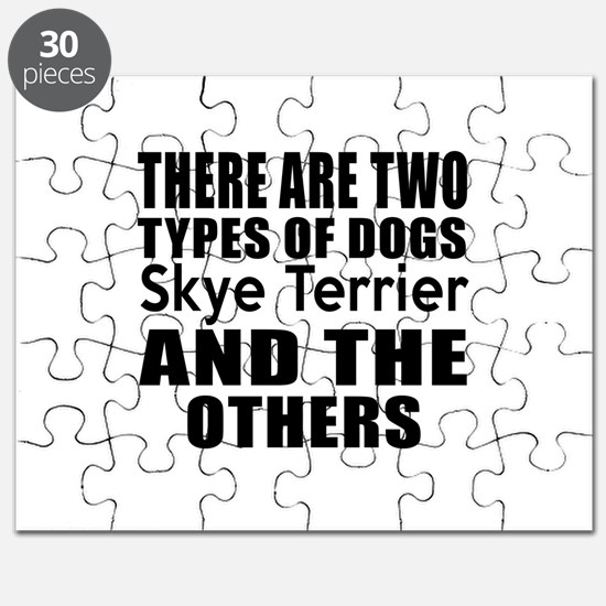 There Are Two Types Of Skye Terrier Dogs De Puzzle