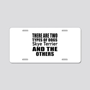 There Are Two Types Of Skye Aluminum License Plate