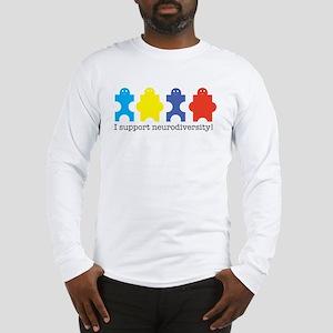 isupportneurodiversity Long Sleeve T-Shirt