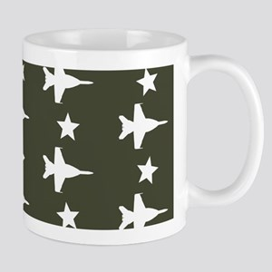 F-18 Hornet Fighter Jet Pattern (Milita Mug