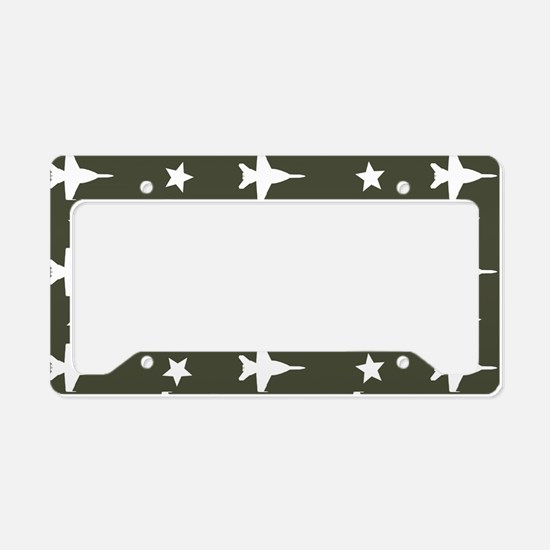 F-18 Hornet Fighter Jet Patte License Plate Holder