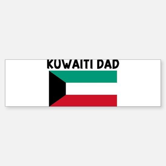 KUWAITI DAD Bumper Bumper Bumper Sticker