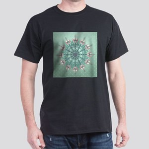 Vintage Floral Dark T-Shirt