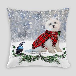 Westie Wonderland Everyday Pillow