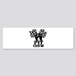 Pit Bull Pit Crew Sticker (Bumper)