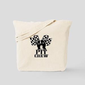 Pit Bull Pit Crew Tote Bag