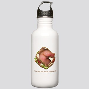 The Worlds Best Sandwi Stainless Water Bottle 1.0L