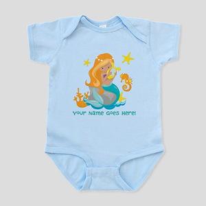 Blond Mermaid Body Suit