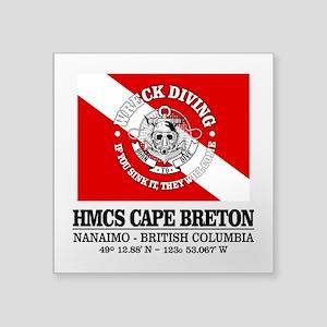 HMCS Cape Breton Sticker