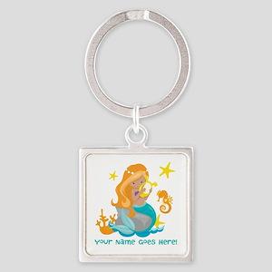Blond Mermaid Keychains