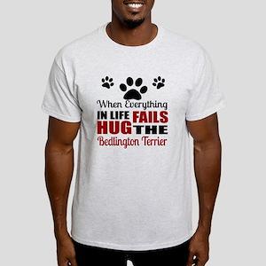 Hug The Bedlington Terrier Light T-Shirt
