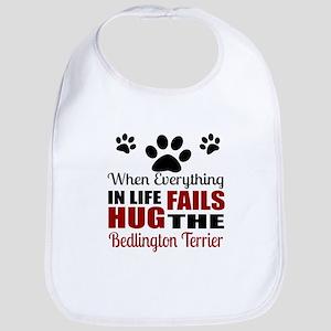 Hug The Bedlington Terrier Bib