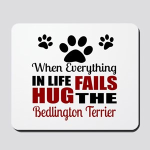 Hug The Bedlington Terrier Mousepad