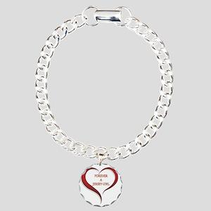 Forever Jersey Charm Bracelet, One Charm
