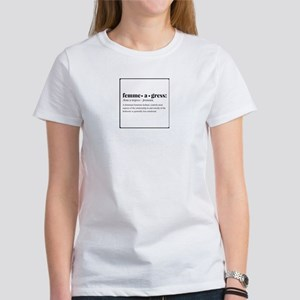 Femmeagress - Definition T-Shirt