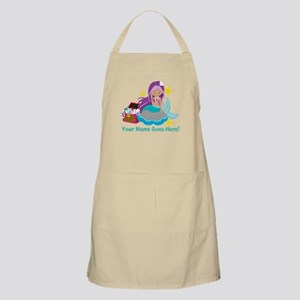 Purple Mermaid Apron
