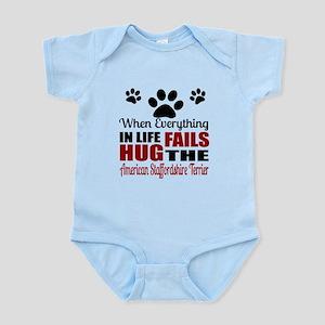 Hug The American Staffordshire Ter Infant Bodysuit