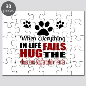 Hug The American Staffordshire Terrier Puzzle