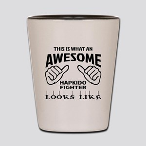 This is what an awesome Hapkido Fighter Shot Glass