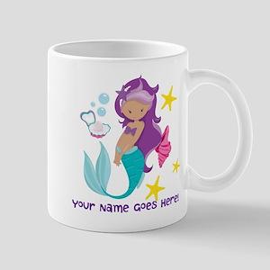 Purple Mermaid Mugs