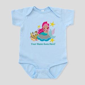 Pink Mermaid Body Suit