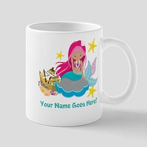 Pink Mermaid Mugs