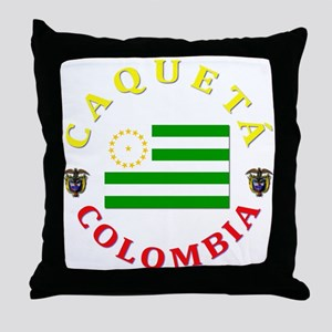 Caqueta Throw Pillow