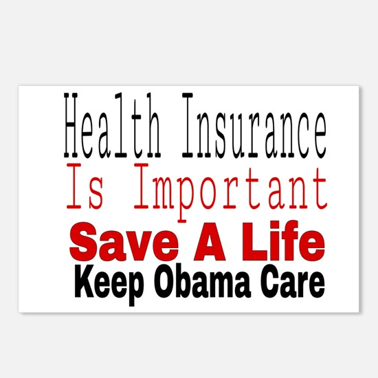 Keep Obama Care Postcards (Package of 8)