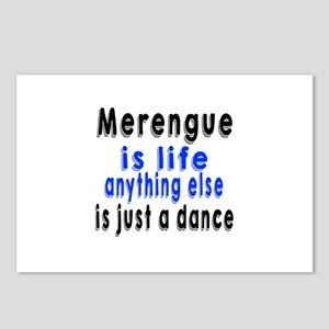 Merengue Is Life Anything Postcards (Package of 8)