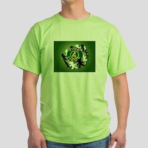 A World Of Hemp Green T-Shirt