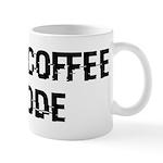 Coffee Into Code Funny Geek Mug