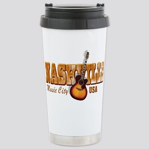 Vintage Nashville Bronze Travel Mug
