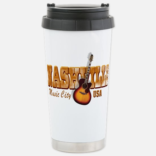 Vintage Nashville Bronze Travel Mug