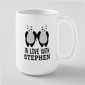 Personalized Couples Panda Bears Mugs