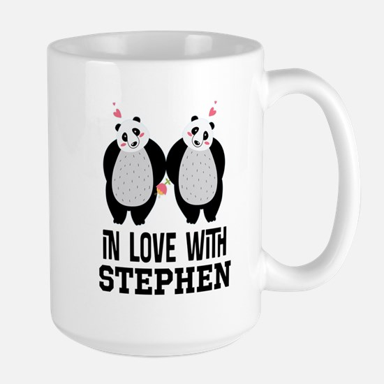 Personalized Couples Panda Bears Mugs