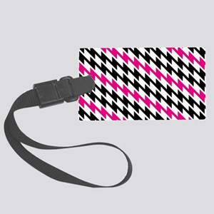 Lightning Zig Zag Pattern Luggage Tag