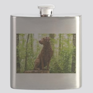 Chesapeake Bay Retriever Flask