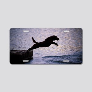 Chesapeake Bay Retriever Le Aluminum License Plate